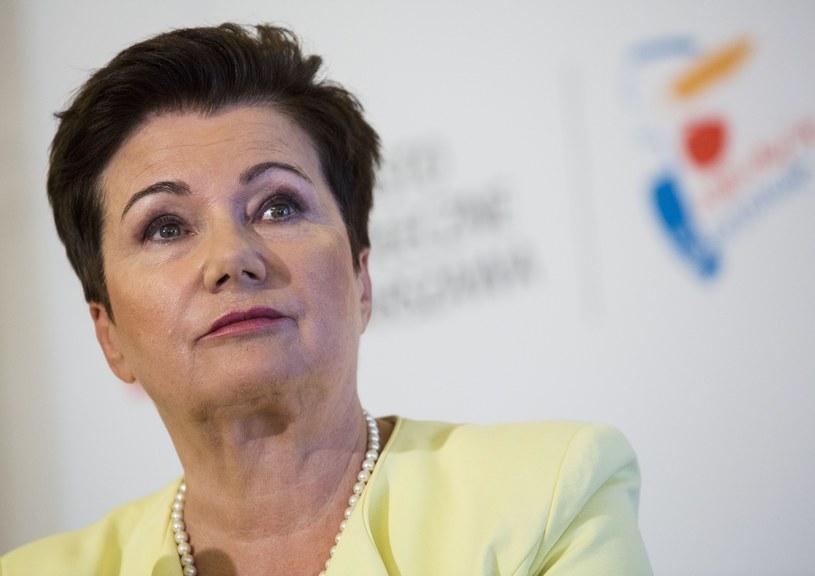 Prezydent Warszawy Hanna Gronkiewicz-Waltz /Andrzej Hulimka  /Reporter