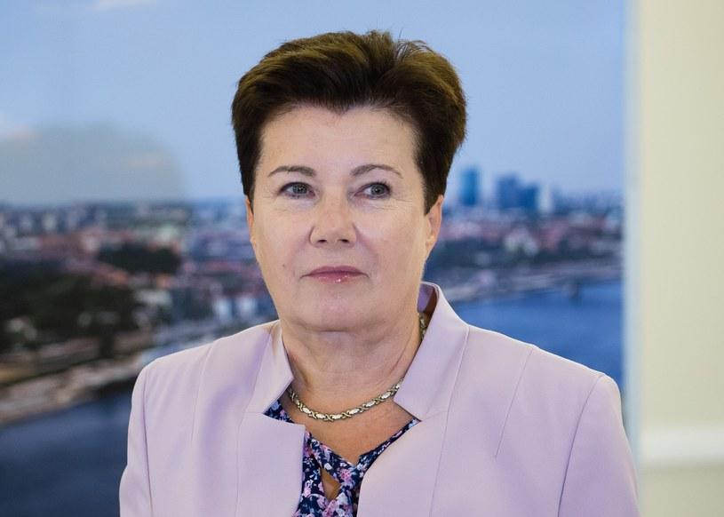 Prezydent Warszawy Hanna Gronkiewicz-Waltz /Fot.Krystian Dobuszynski /Reporter