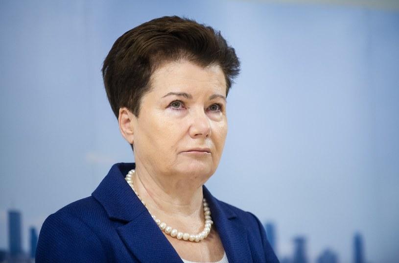 Prezydent Warszawy Hanna Gronkiewicz-Waltz /Bartosz Krupa /East News