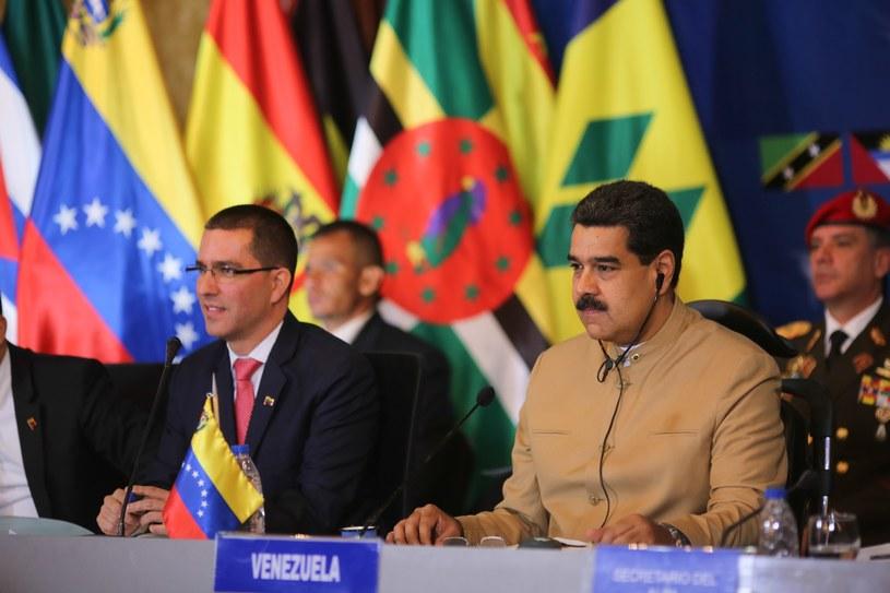 Prezydent Wenezueli Nicolas Maduro /MIRAFLORES PRESS /PAP/EPA