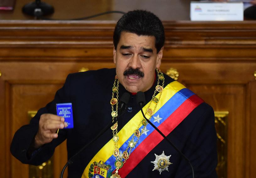 Prezydent Wenezueli Nicolas Maduro /RONALDO SCHEMIDT / AFP /AFP