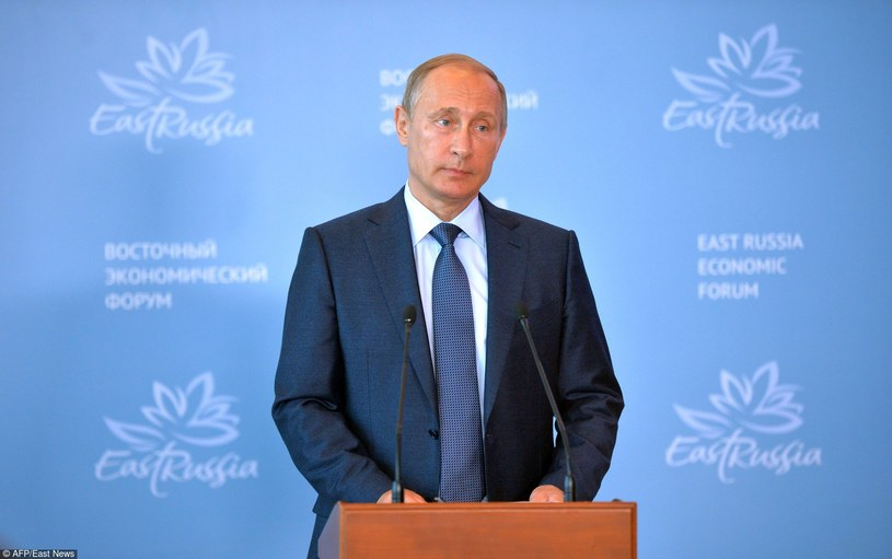 Prezydent Władimir Putin /ALEXEY DRUZHININ /East News