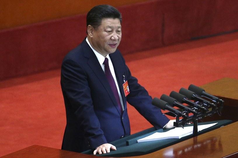 Prezydent Xi Jinping /WU HONG /PAP/EPA