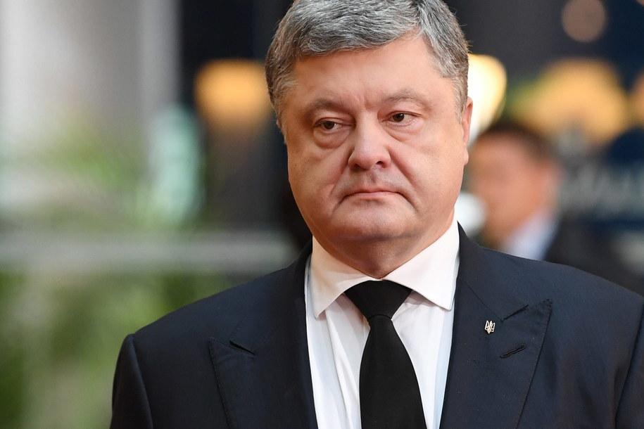 prezydenta Ukrainy Petro Poroszenko /SVEN HOPPE /PAP/EPA