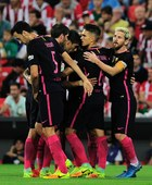 Primera Division. Athletic Bilbao - FC Barcelona 0-1