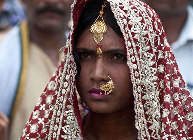 Priyanka Bharti opuściła dom męża, bo nie było w nim ubikacji /AFP