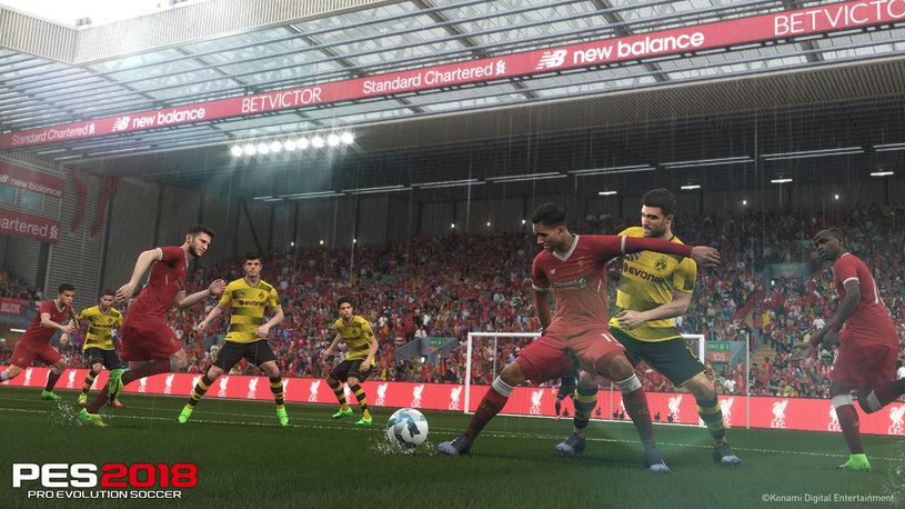 Pro Evolution Soccer 2018 /materiały prasowe