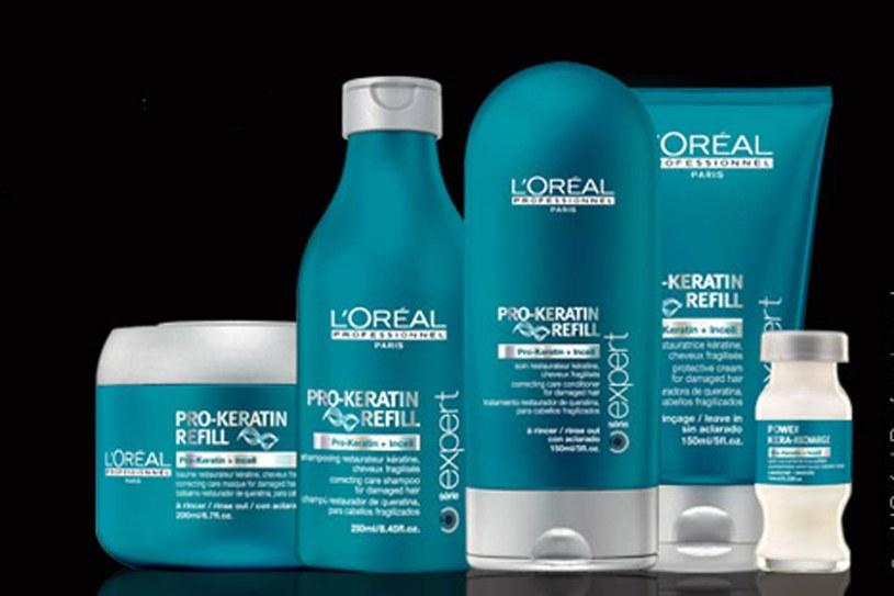 Pro-keratin Refill L`Oréal Professionnel /Styl.pl/materiały prasowe
