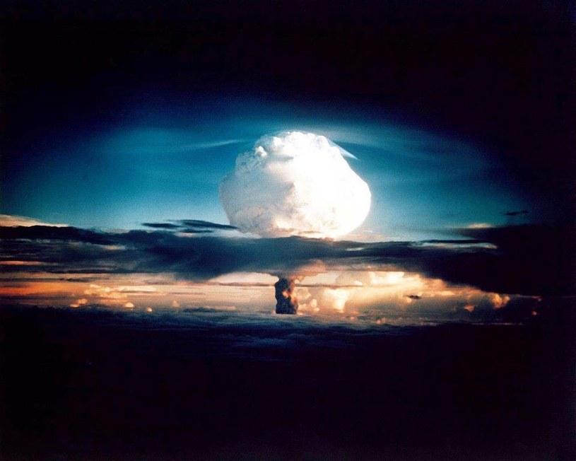 Próba jądrowa /AFP