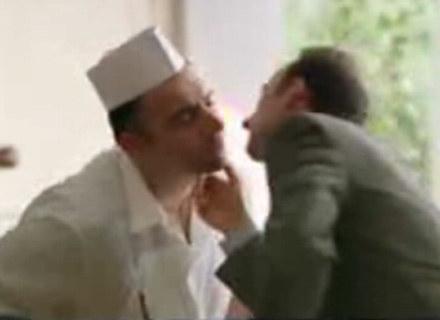 Problematyczny kadr z reklamy majonezu - fot. www.youtube.com /