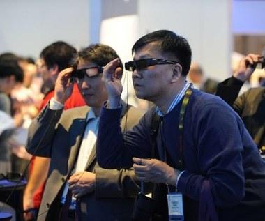 Problemy z okularami 3D