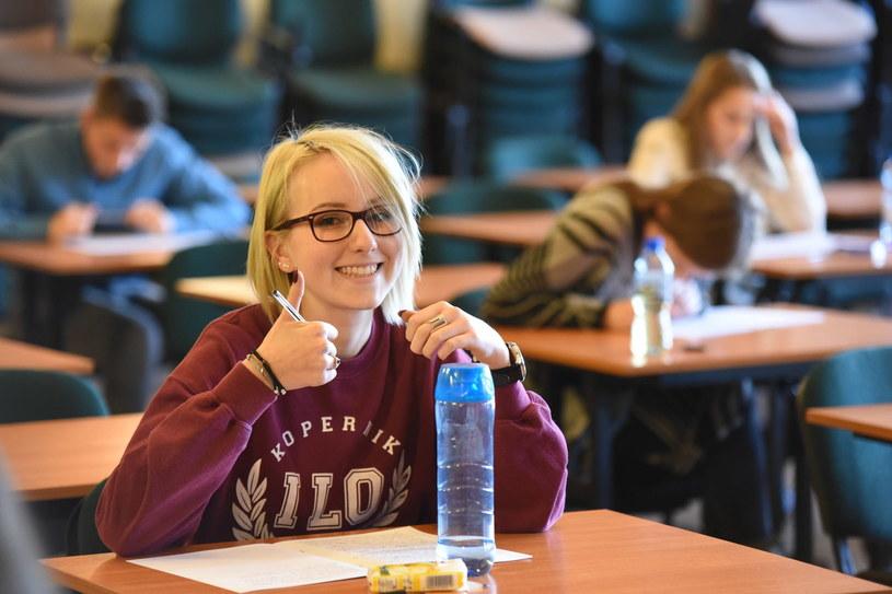 Próbna matura w I Liceum Ogólnokształcącym w Toruniu /Grzegorz Olkowski / Polska Press /East News