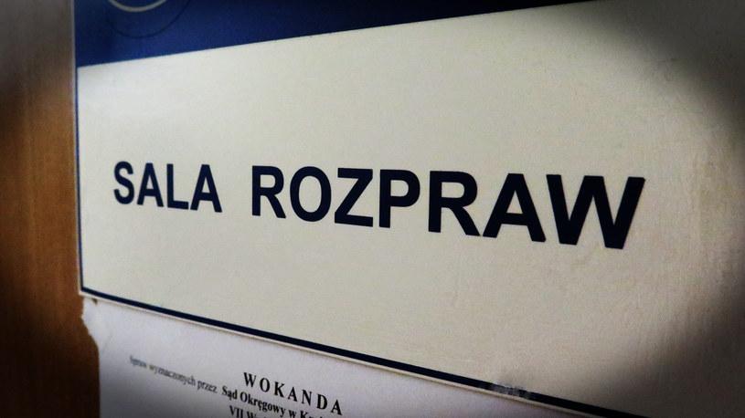 Proces odbywał się bowiem za zamkniętymi drzwiami (zdjęcie ilustracyjne) /Jacek Skóra /RMF FM