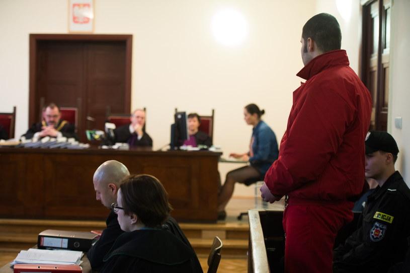 Proces przed łódzkim sądem /Grzegorz Michałowski /PAP