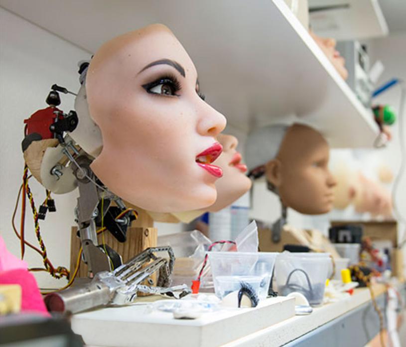 Proces tworzenia robota dla dorosłych w firmie Realbotix /materiały prasowe