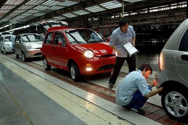 Produkcja chery QQ w Chinach /AFP