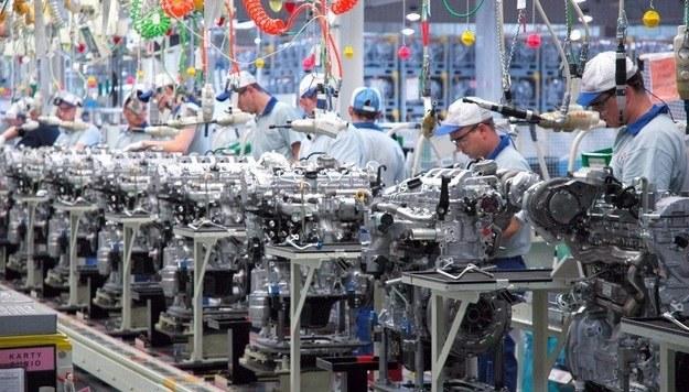 Produkcja silników Toyoty /Toyota