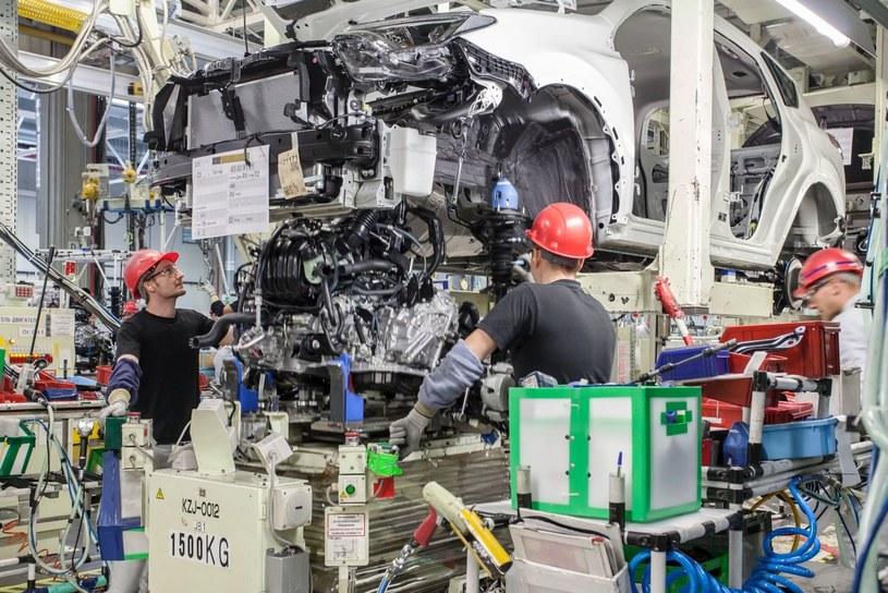 Produkcja w fabryce Toyoty /