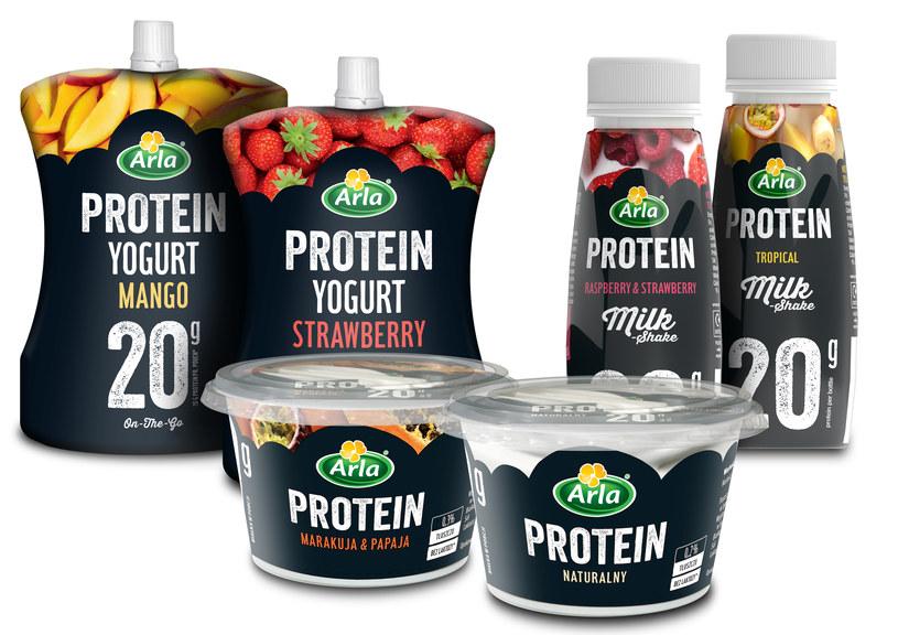 Produkty Arla Protein /materiały prasowe