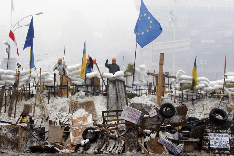 Proeuropejska manifestacja /AFP