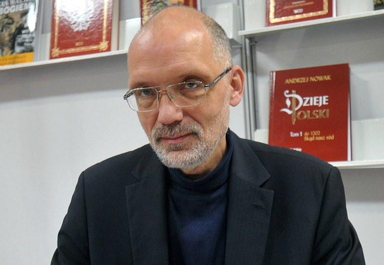 Prof. Andrzej Nowak /Marek Lasyk  /Reporter