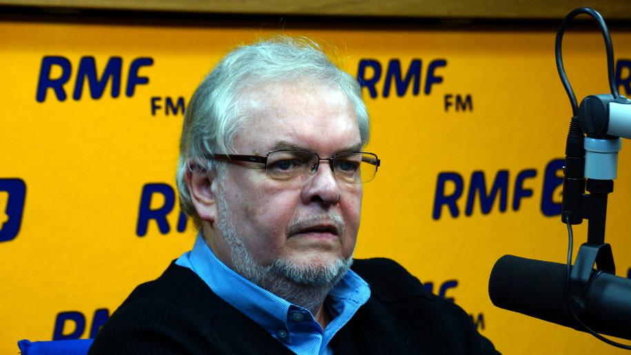 prof. Andrzej Rychard - dyrektor Instytutu Filozofii i Socjologii PAN /Michał Dukaczewski /RMF FM