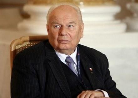 Prof. Andrzej Stelmachowski zmarł w wieku 84 lat, 6 kwietnia 2008 roku/fot. B. Międzybrodzki /Agencja SE/East News