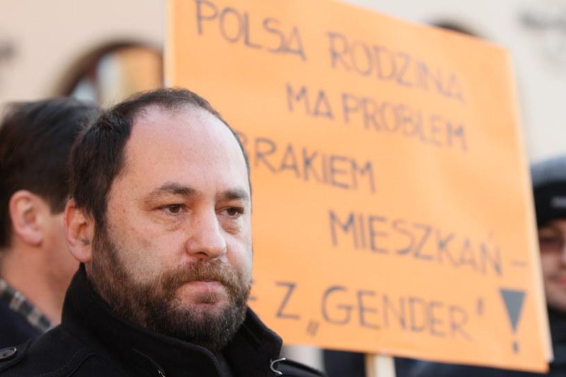 Prof. Jan Hartman /Stanisław Rozpędzik /PAP