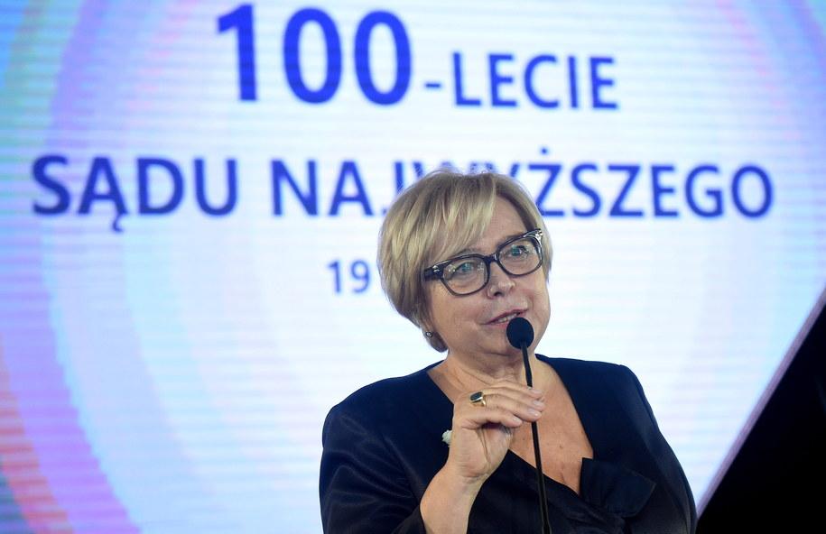Prof. Małgorzata Gersdorf /Radek Pietruszka /PAP