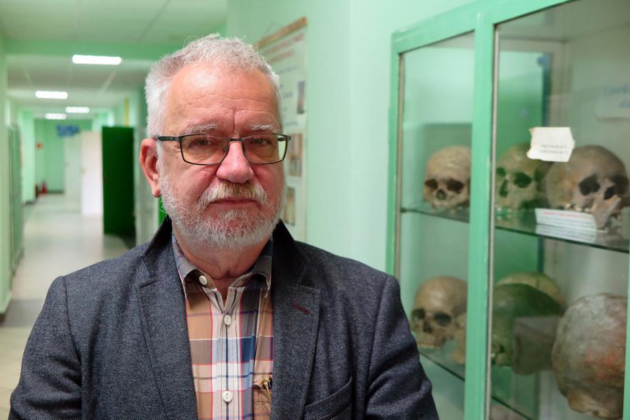 Prof. Mirosław Parafiniuk /Aneta Łuczkowska /RMF FM