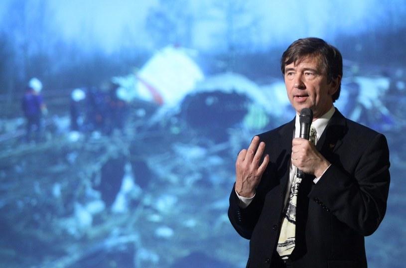 Prof.Wiesław Binienda /Stefan Maszewski /Reporter