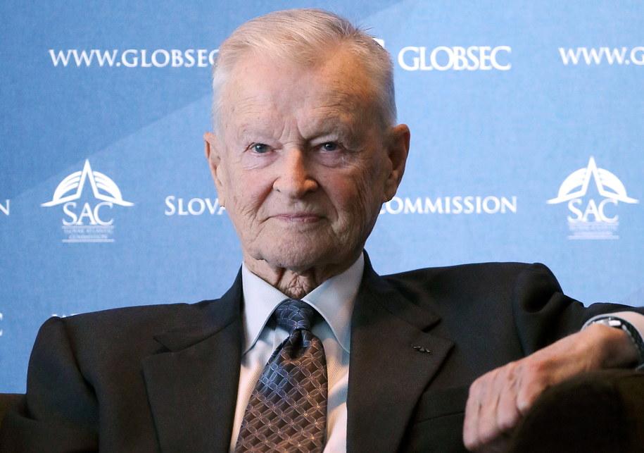 Prof. Zbigniew Brzeziński na zdjęciu archiwalnym z 18 kwietnia 2013 roku /Paweł Supernak /PAP