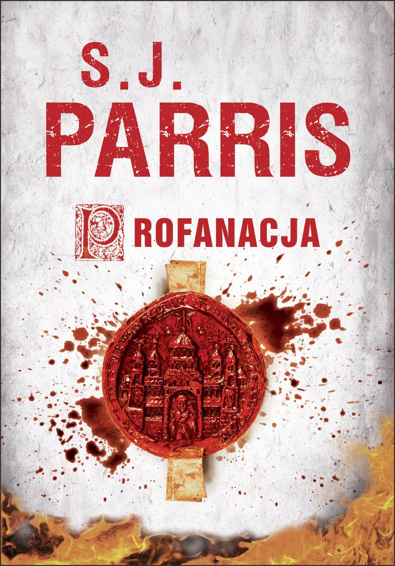 Profanacja, S.J. Parris /Wydawnictwo Albatros