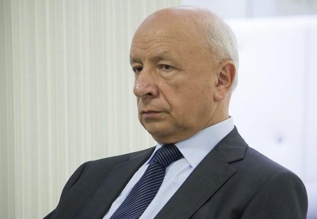Profesor Bogdan Chazan /Krystian Dobuszyński /Reporter