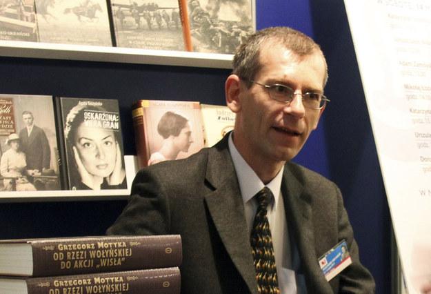 Profesor Grzegorz Motyka: dyrektor Instytut Studiów Politycznych PAN i ekspert w sprawach historii polsko-ukraińskiej /Sławomir Olzacki /Agencja FORUM