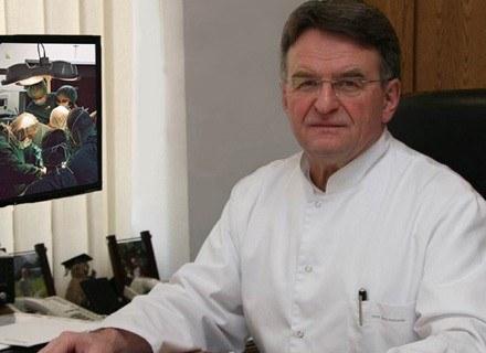 Profesor Jerzy Sadowski. /