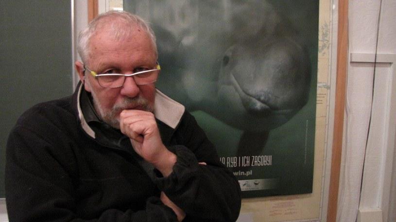 Profesor Krzysztof Skóra, szef Stacji Morskiej Uniwersytetu Gdańskiego w Helu /Kuba Kaługa /RMF FM