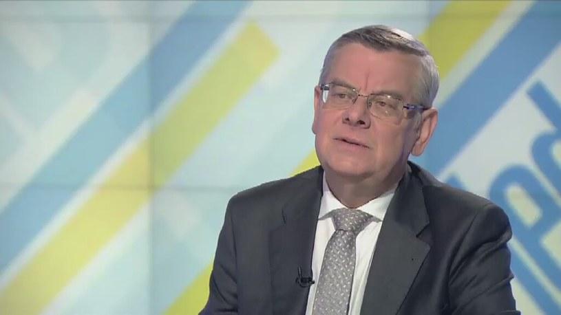 Profesor Tomasz Nałęcz /TVN24/x-news