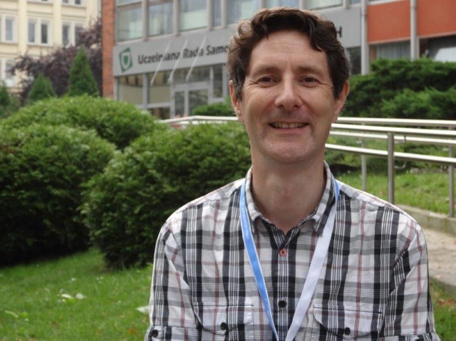 Profesor Trevor Cox /Grzegorz Jasiński /RMF FM