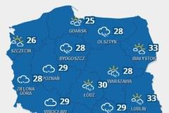 Prognoza pogody do końca tygodnia