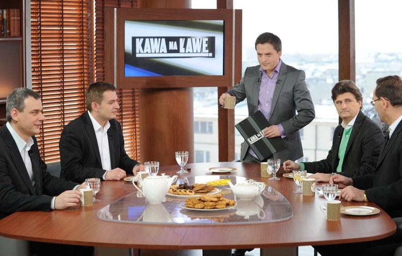 Program Kawa na Ławę traktuje o sprawach polityczno-społecznych /Piotr Blawicki /East News/Reporter