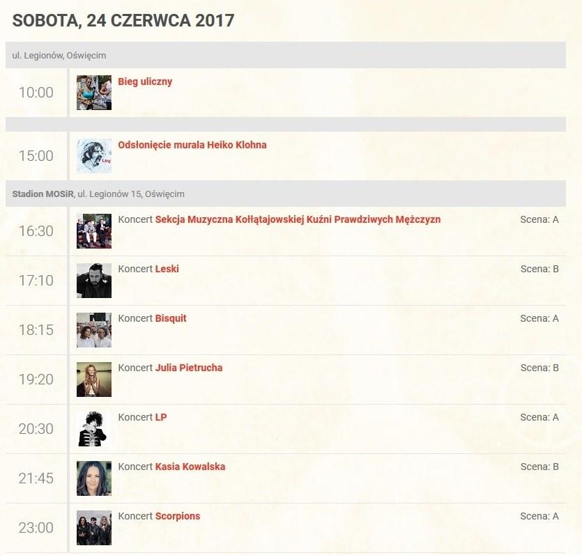 Program tegorocznej edycji LFO /lifefestival.pl /