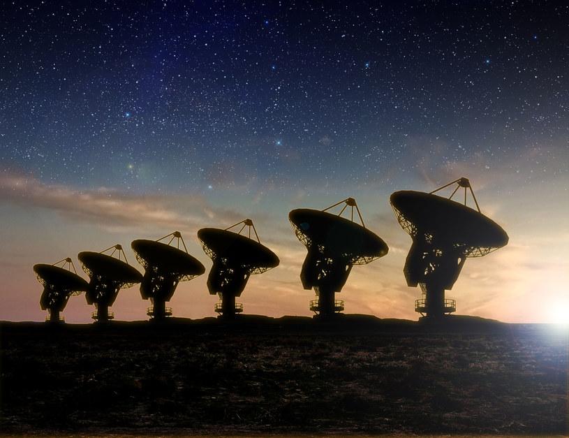 Programy takie jak SETI pomogą nam nawiązać kontakt? /©123RF/PICSEL