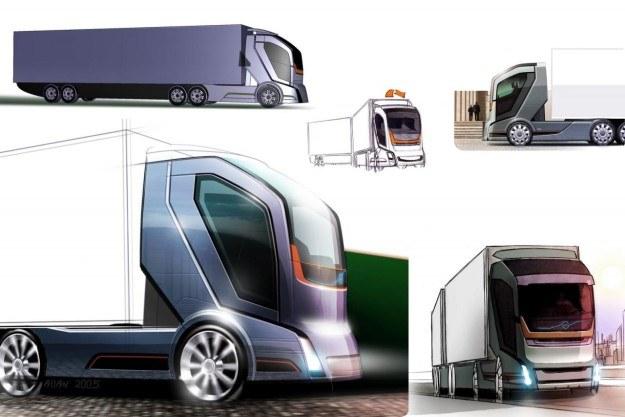 Projekt ciężarówki przyszłości Volvo /