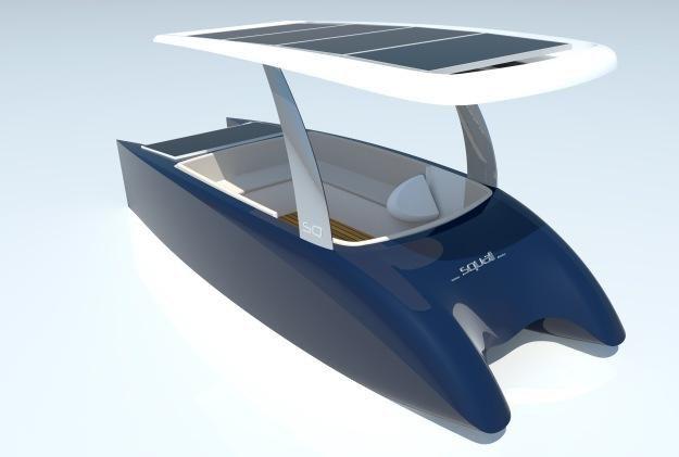 Projekt łódki zasilanej energią słoneczną /materiały prasowe