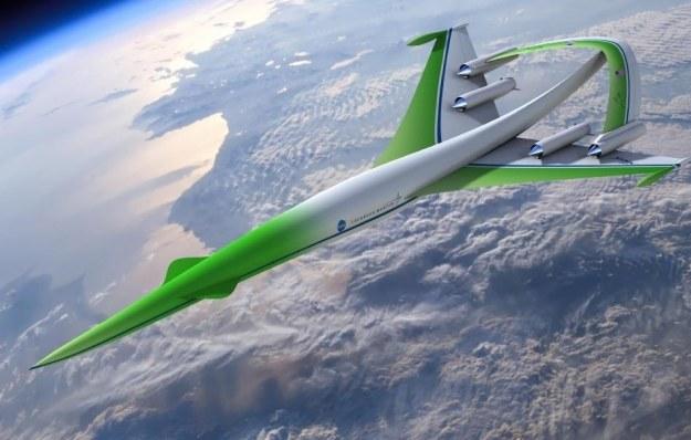 Projekt ponaddźwiękowego samolotu przyszłości autorstwa Lockheed Martin /materiały prasowe