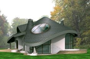 Projekt rezydencji FLORO. Więcej na www.villanette.pl