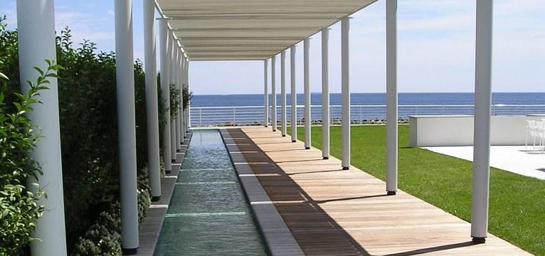 Projekt zagospodarowania krajobrazu nad oceanem /Styl.pl/materiały prasowe