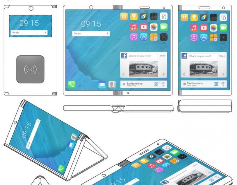 Projekt zakłada, że urządzenie będzie jednocześnie smartfonem i tabletem /LetsGoDigital /materiał zewnętrzny