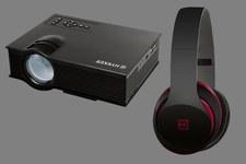 Projektor LED Vision 130 i słuchawki Soul Sound w sieci sklepów Biedronka